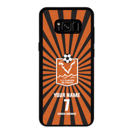 Funda movil Samsung Galaxy S8 Plus Londres Big Ben 3D