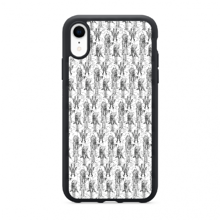 Funda móvil Iphone X Naval 3D