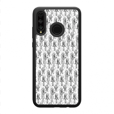 Funda móvil compatible con iphone X Palmera 3D
